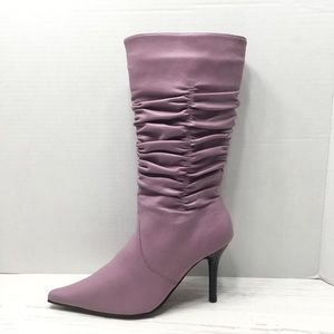CHINESE LAUNDRY | Stella Mid Calf Ruched Boot - 7
